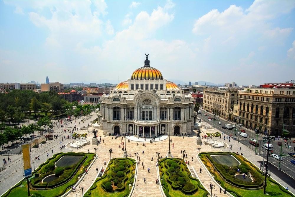 Belles Artes à Mexico