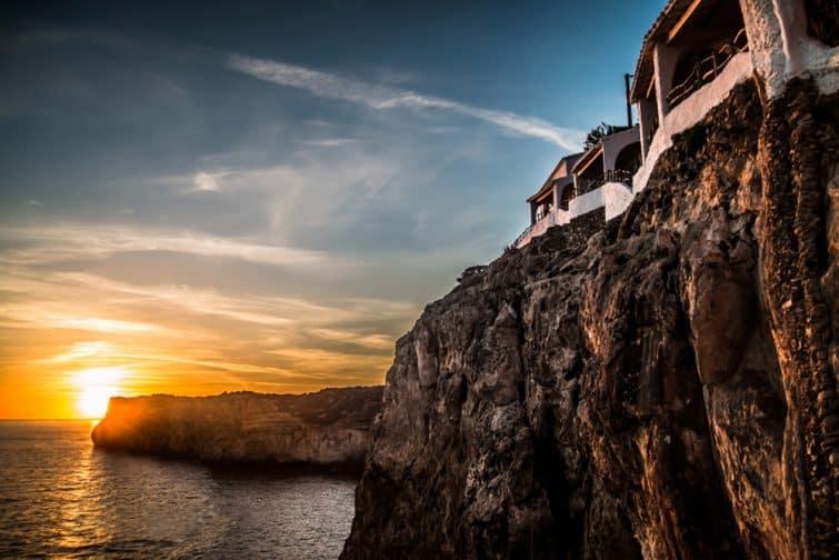 Un coucher de soleil à Minorque
