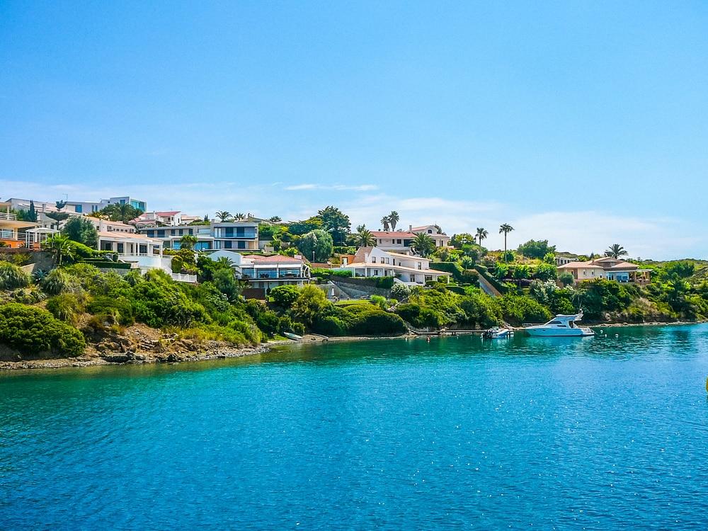 Vue de Mahon visiter les îles Baléares
