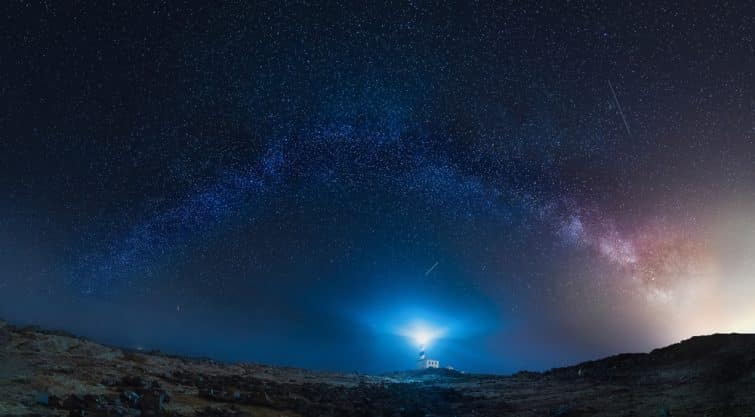 Le ciel étoilé à Minorque