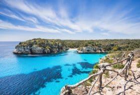 Panorama splendide de Minorque