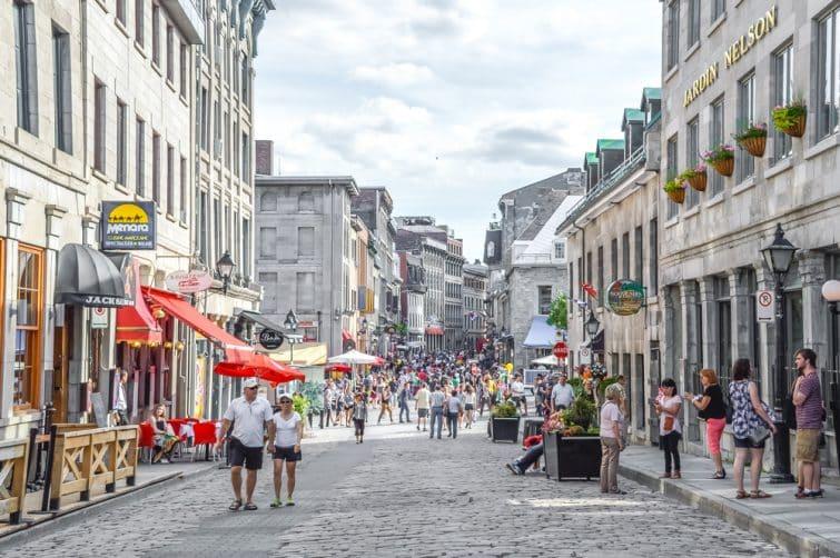 Rue du Vieux-Montréal
