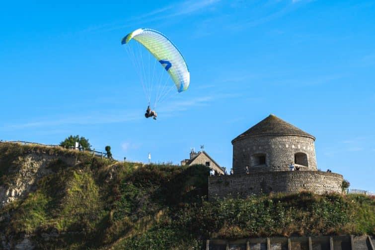 normandie parachute