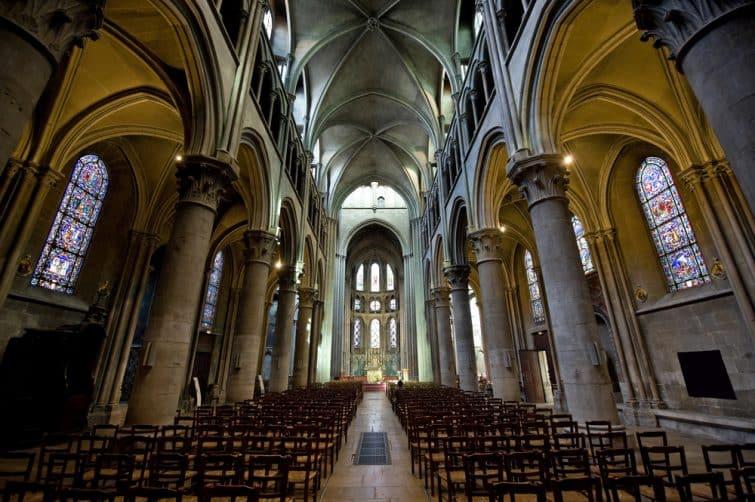 Intérieur de Notre Dame de Dijon