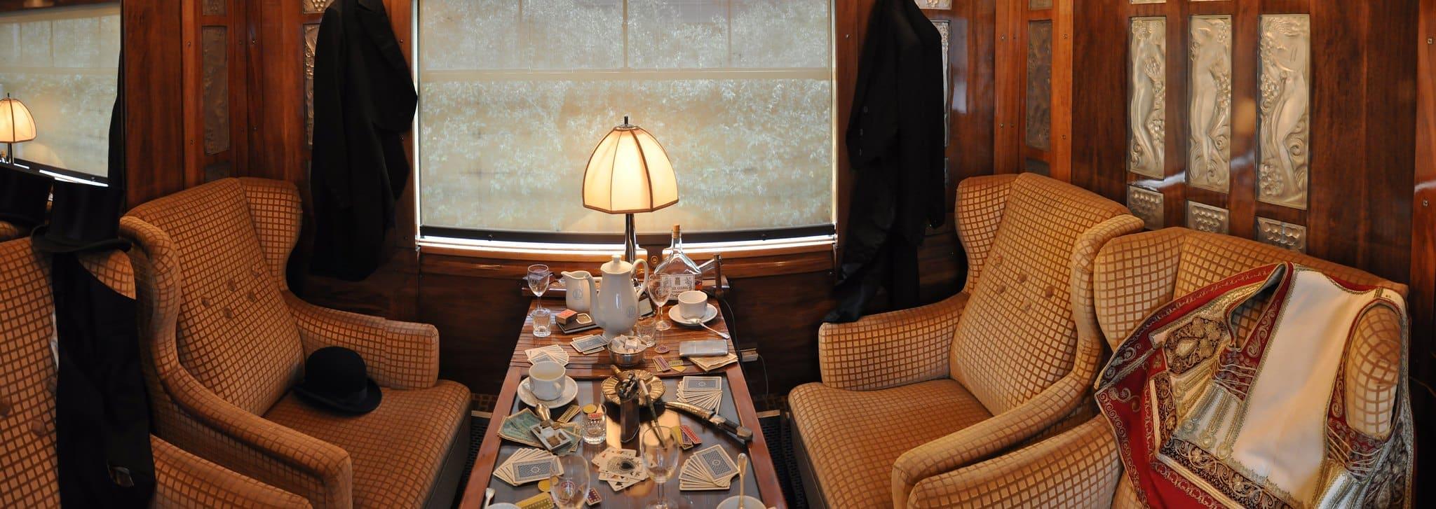 Les cabines de l'Orient Express