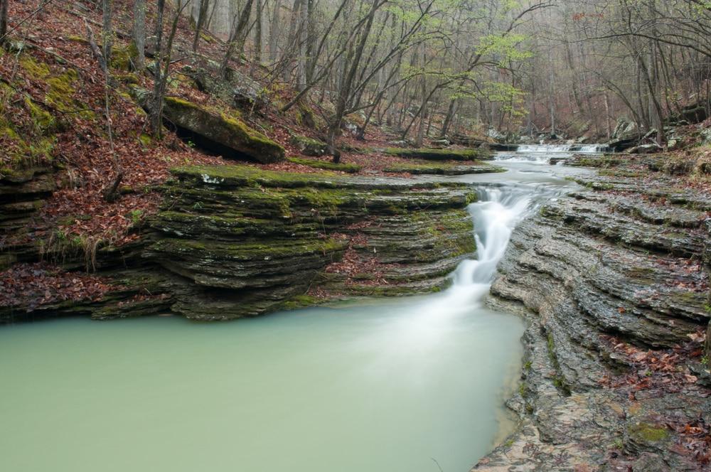 Cascade près des Spirit Creeks