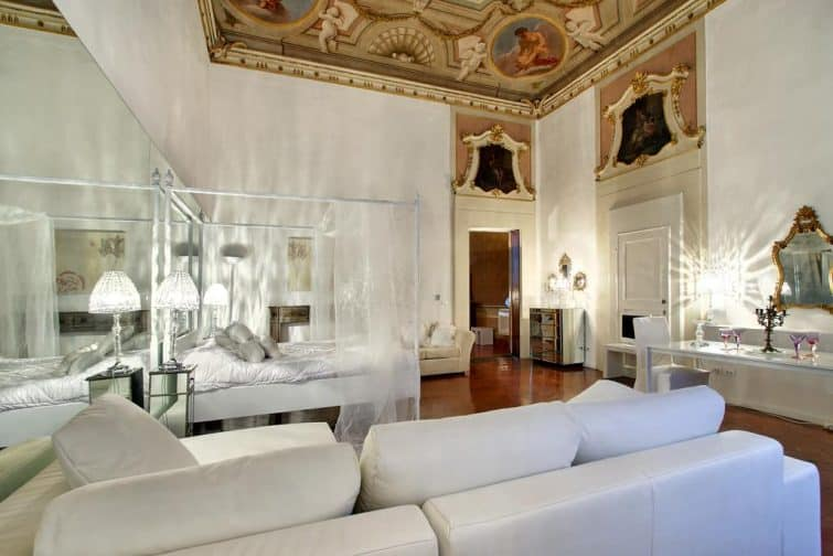 Chambre d'hôtel au Palazzo Tolomei - Residenza D'Epoca, Florence