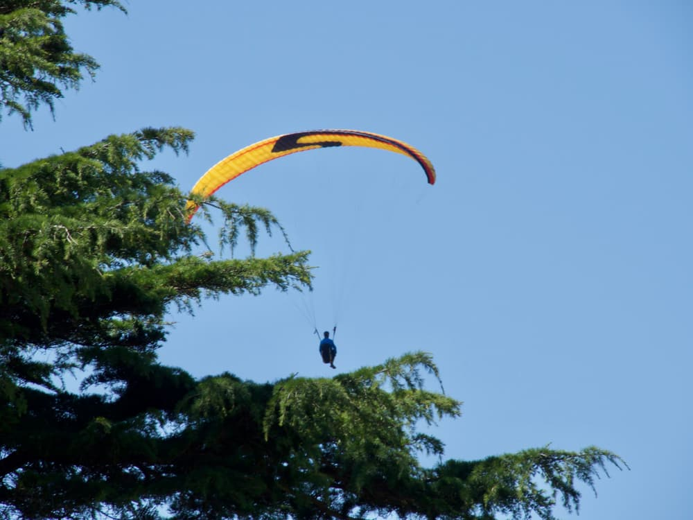 parachute normandie