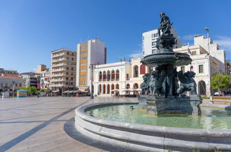 patras old town