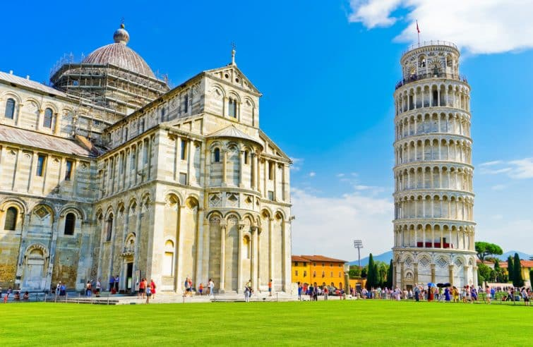 La Tour de Pise et le Duomo