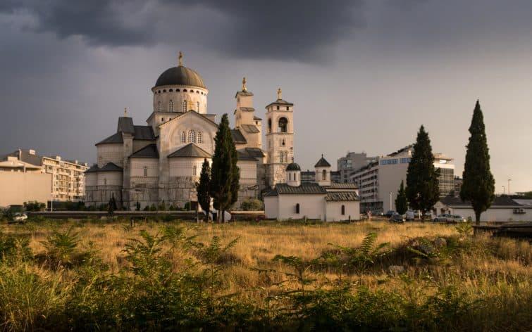 La cathédrale de Podgorica