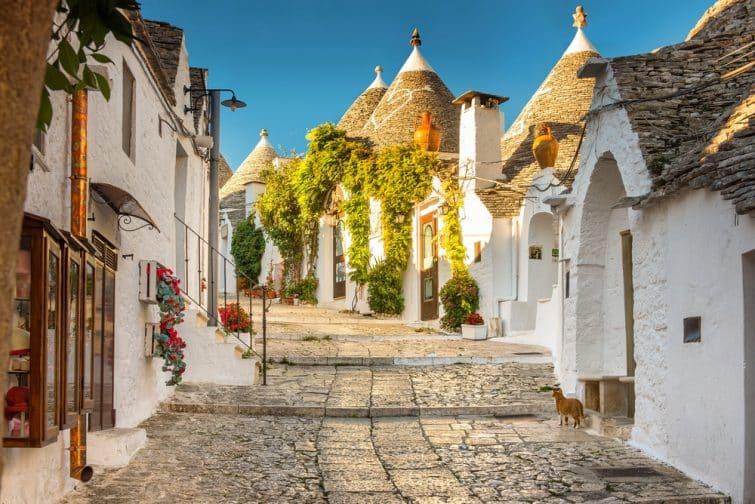 Les trulli : maisons typiques apuliennes