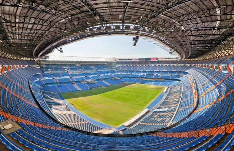 L'intérieur du Santiago Bernabéu