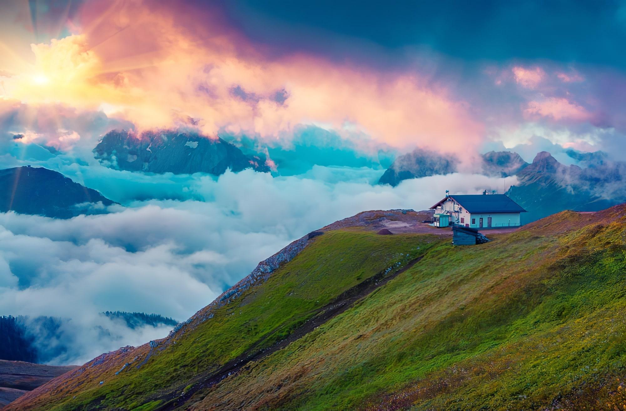 10 refuges de montagne à découvrir dans le monde