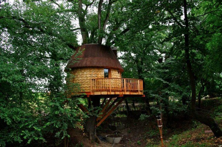 Cabanes perchées des Robinsonades