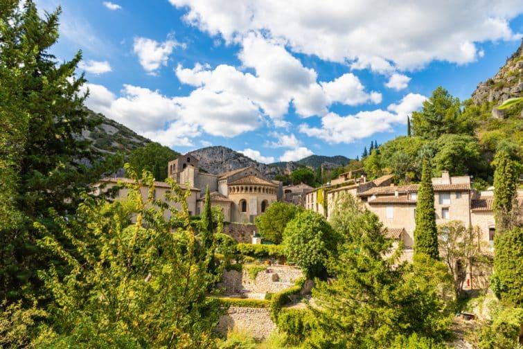 Village de Saint-Guilhem-le-Désert,  Occitanie