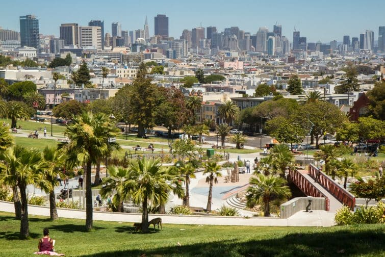 Le Dolores Park de Mission, San Francisco