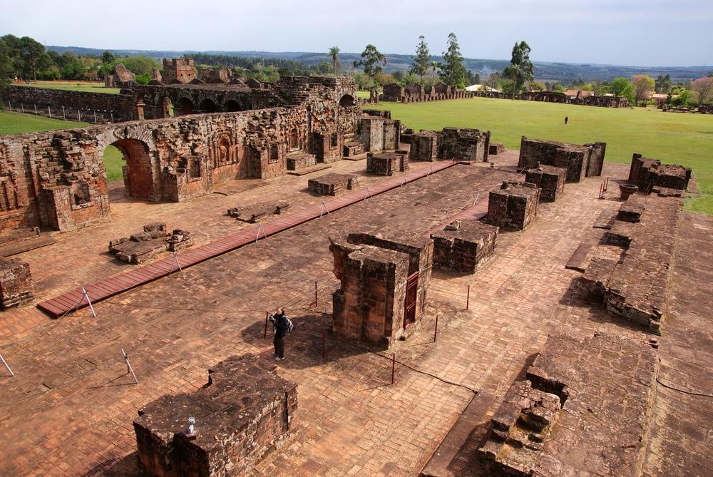 Jesus Ruines, Trinidad de Parana