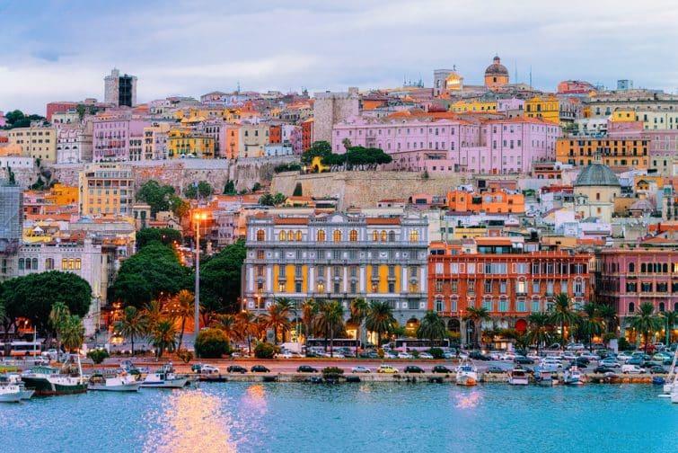 Vue de Cagliari
