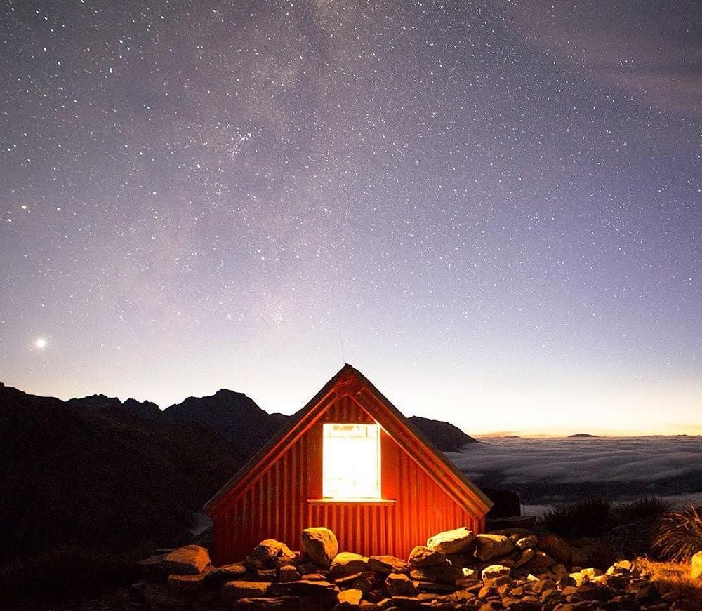 Refuge de Sefton Bivvy, Nouvelle-Zélande
