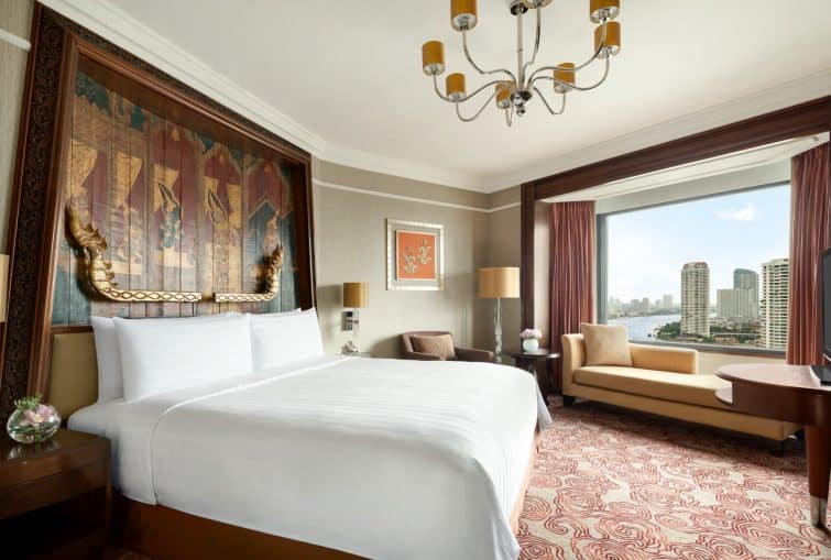 Chambre au Shangri Hôtel à Bangkok