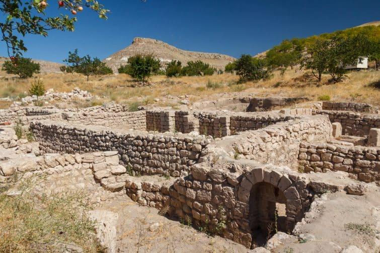 Ruines de l'ancienne cité de Sobesos, Cappadoce, Turquie