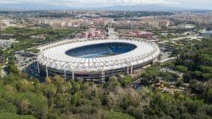 Vue extérieure du Stadio Olimpico