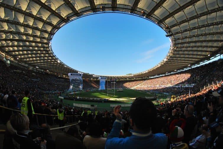 Vue intérieure du Stadio Olimpico