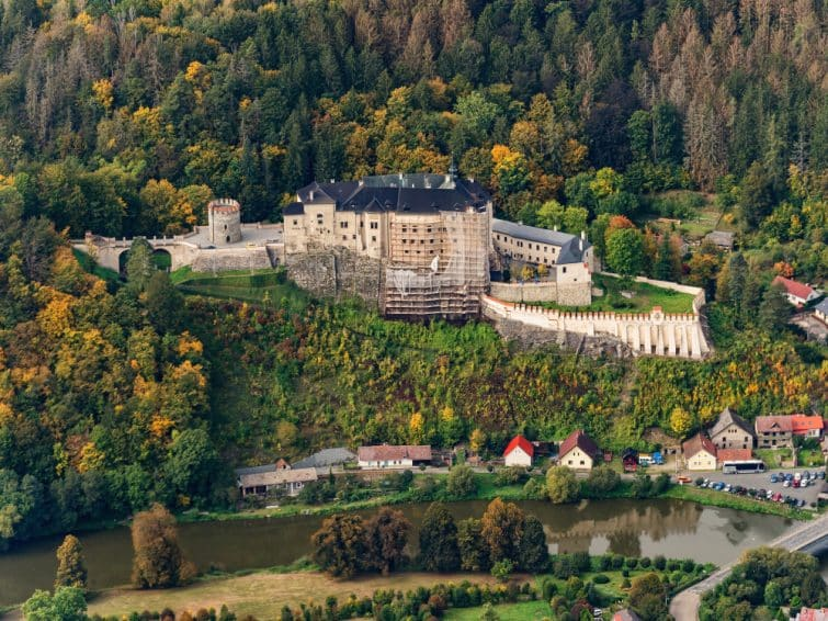 Château de Sternberg, République Tchèque