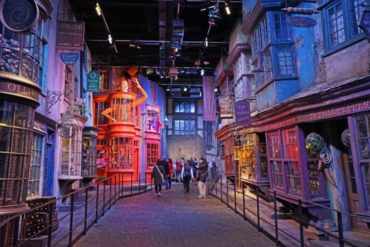 Studios Harry Potter à Londres