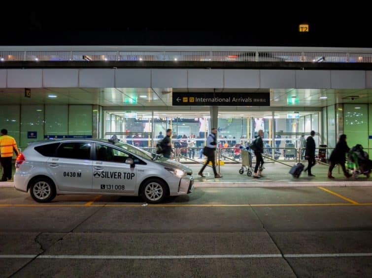 taxi aéroport melbourne