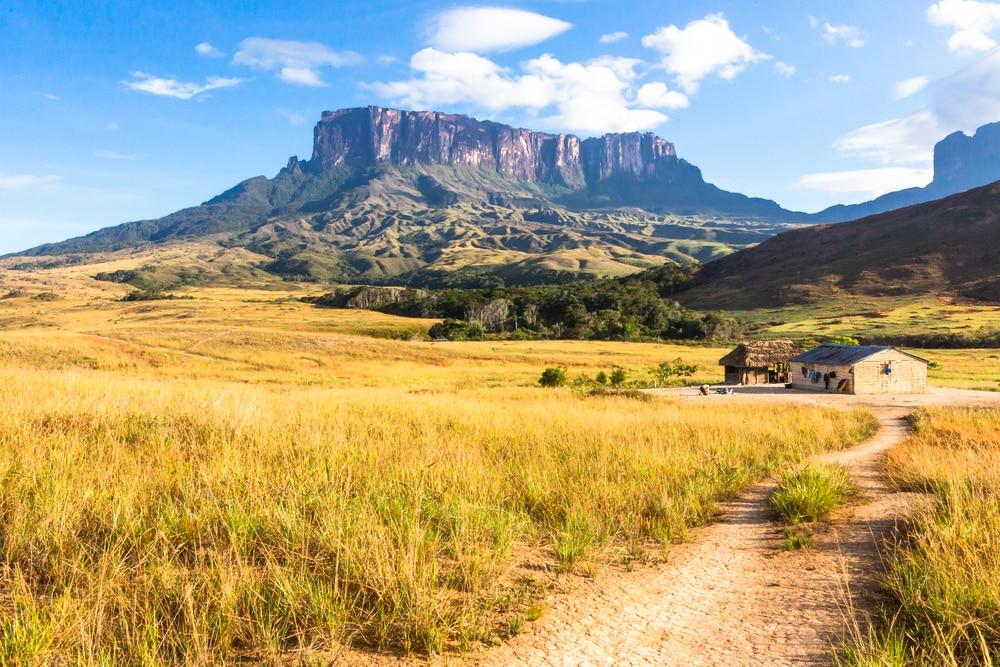 Vue sur le Mont Roraima, Venezuela