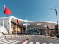 Aéroport Menara à Marrakech, Maroc
