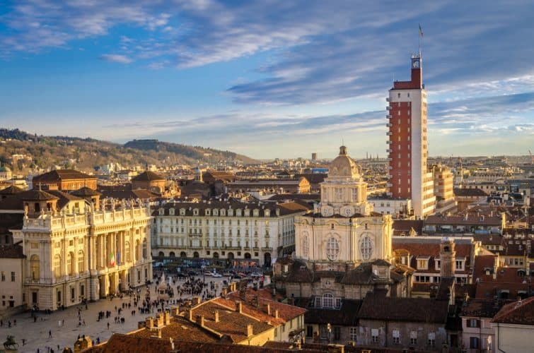 Le centre historique de Turin