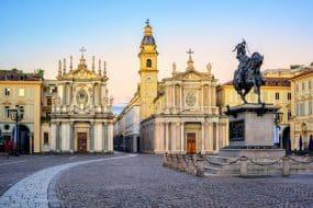 La Piazza San Carlo de Turin