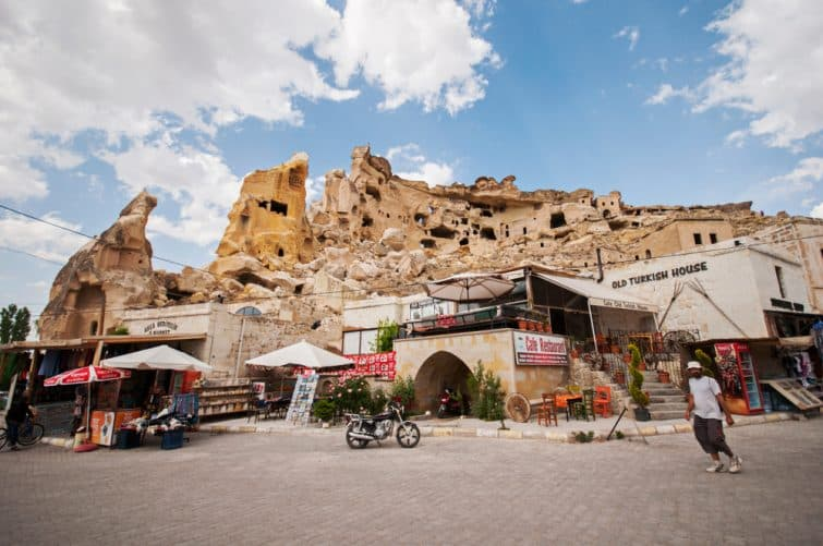 Comerces à Ürgüp, Cappadoce