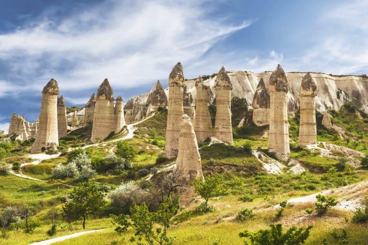 La vallée de l'amour en Cappadoce