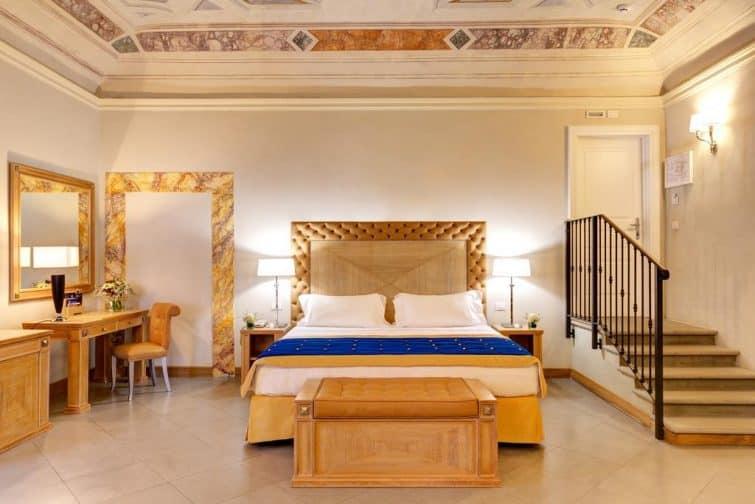 Chambre à la Villa Tolomei Hôtel & Resort, Florence