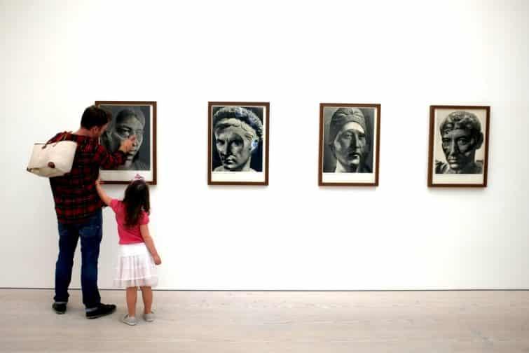 Saatchi Gallery's, Londres