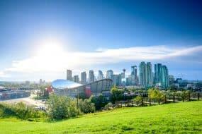Vue sur Calgary, Canada