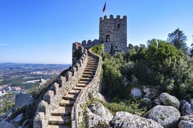 Visiter le Château des Maures à Sintra : billets, tarifs, horaires