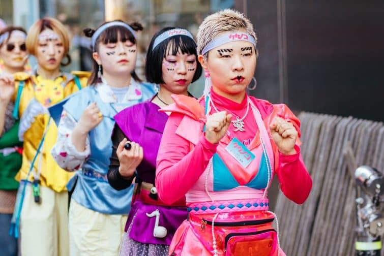 Cosplay à Harajuku
