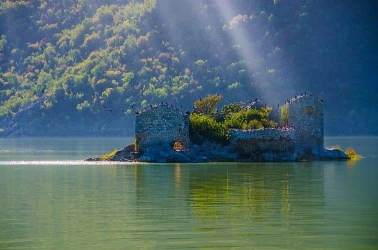 Forteresse de Grmozur, lac de Skadar, Monténégro, Europe
