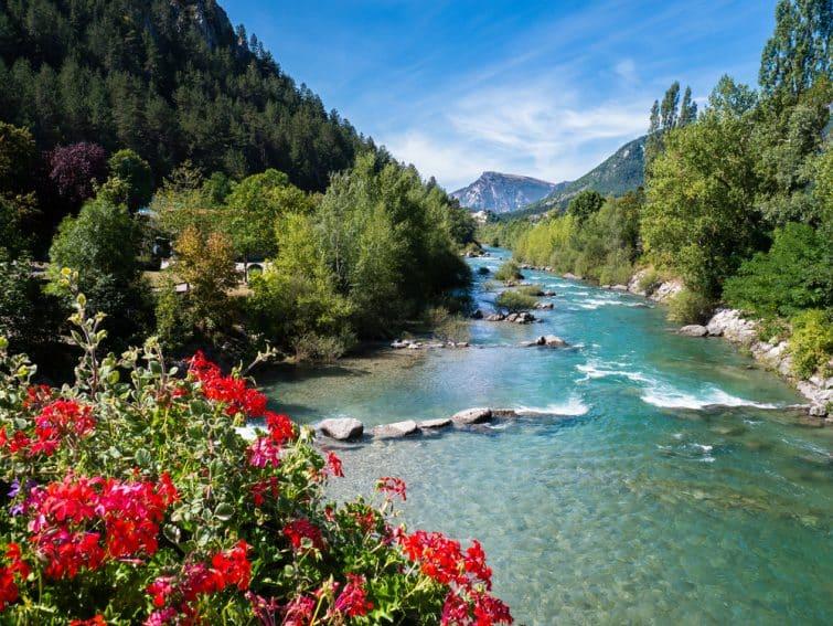 Gorges du Verdon - River in France