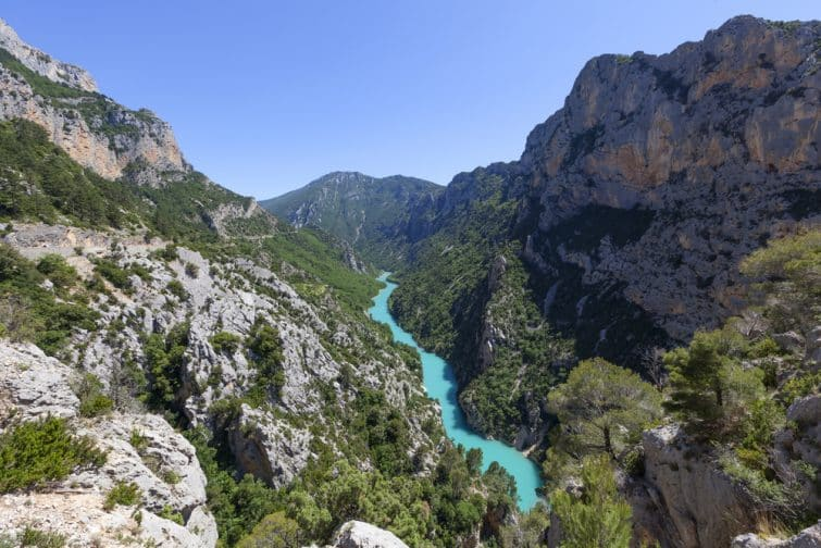 Gorges du Verdon,Provence in France, Europe.