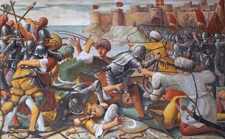 La conquête de Rhodes