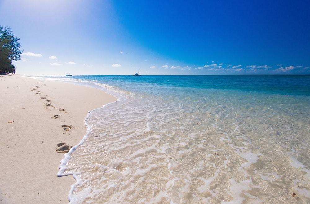 La plage de l'île de Denis