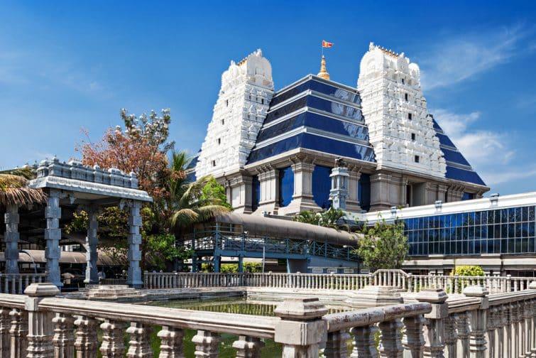 Le temple de ISKCON Bangalore