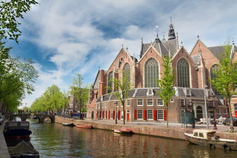 Vue sur Oude Kerk, Amsterdam