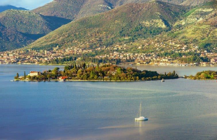 Île de prevlaka, Montenegro